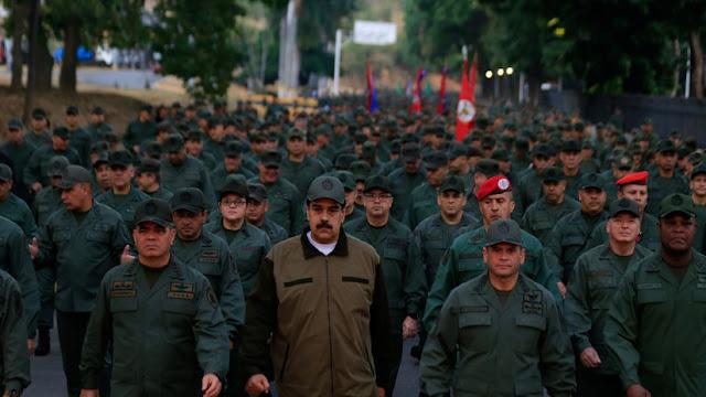 Maduro llama a los militares a prepararse para defender el país de un eventual ataque de EE.UU.