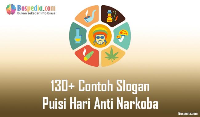 Gambar Ilustrasi Stop Narkoba 130 Contoh Slogan Dan Puisi Hari Anti Narkoba Bospedia