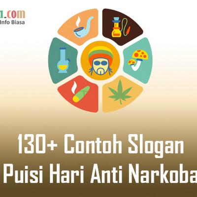 130 Contoh Slogan Dan Puisi Hari Anti Narkoba Bospedia