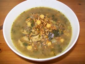 vegan essen in wien - Veganer Dinkeleintopf - Persien (veganes Rezept für 2 Personen) - hauptspeise