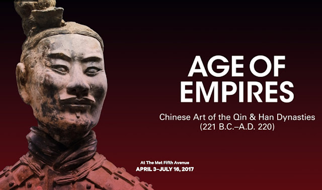 Age of Empires: Chinese Art of the Qin and Han Dynasties (221 B.C.–A.D. 220) at The Met Fifth Avenue
