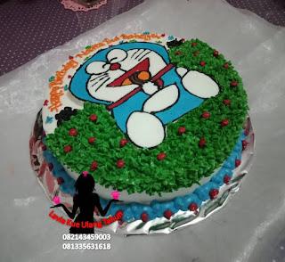 Kue Tart Doraemon Lucu Untuk Ulang Tahun