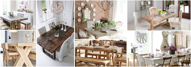 Charming Rustic Style In Dining Room Decorations