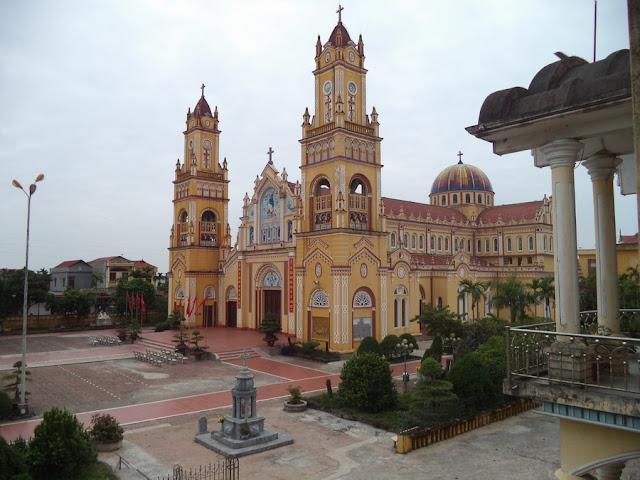 Nhà thờ Quần Phương - Nam Định