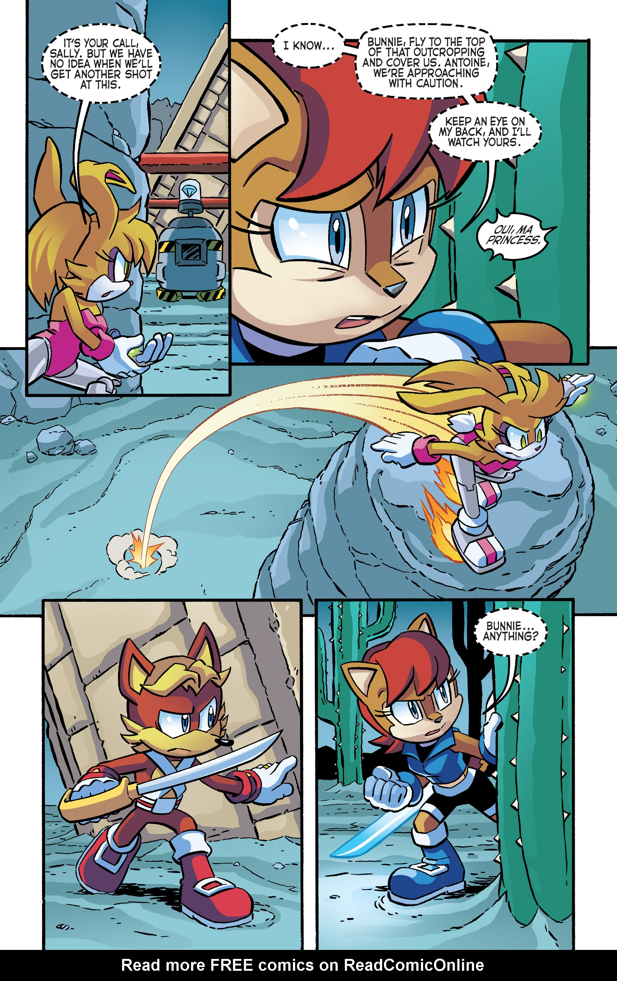 Read online Sonic The Hedgehog comic -  Issue #266 - 20