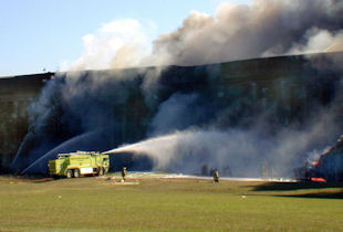 The Pentagon crash site