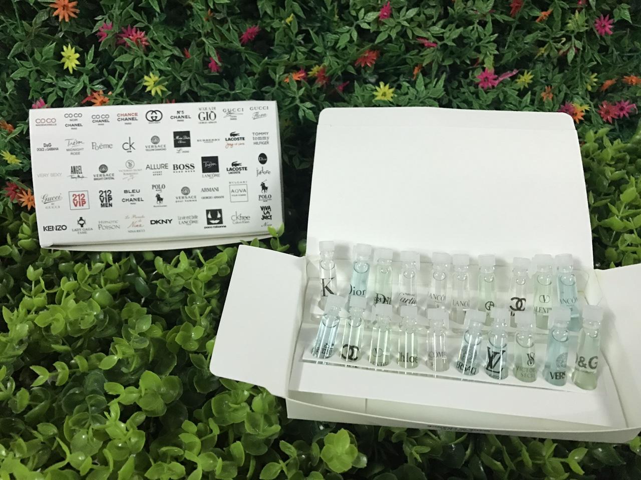 38k - Bộ test nước hoa 20 chai 1ml giá sỉ và lẻ rẻ nhất