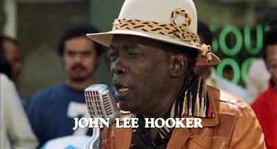 Blues legend John Lee Hooker