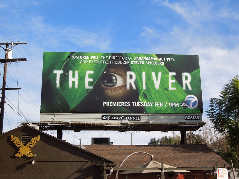 The River TV billboard