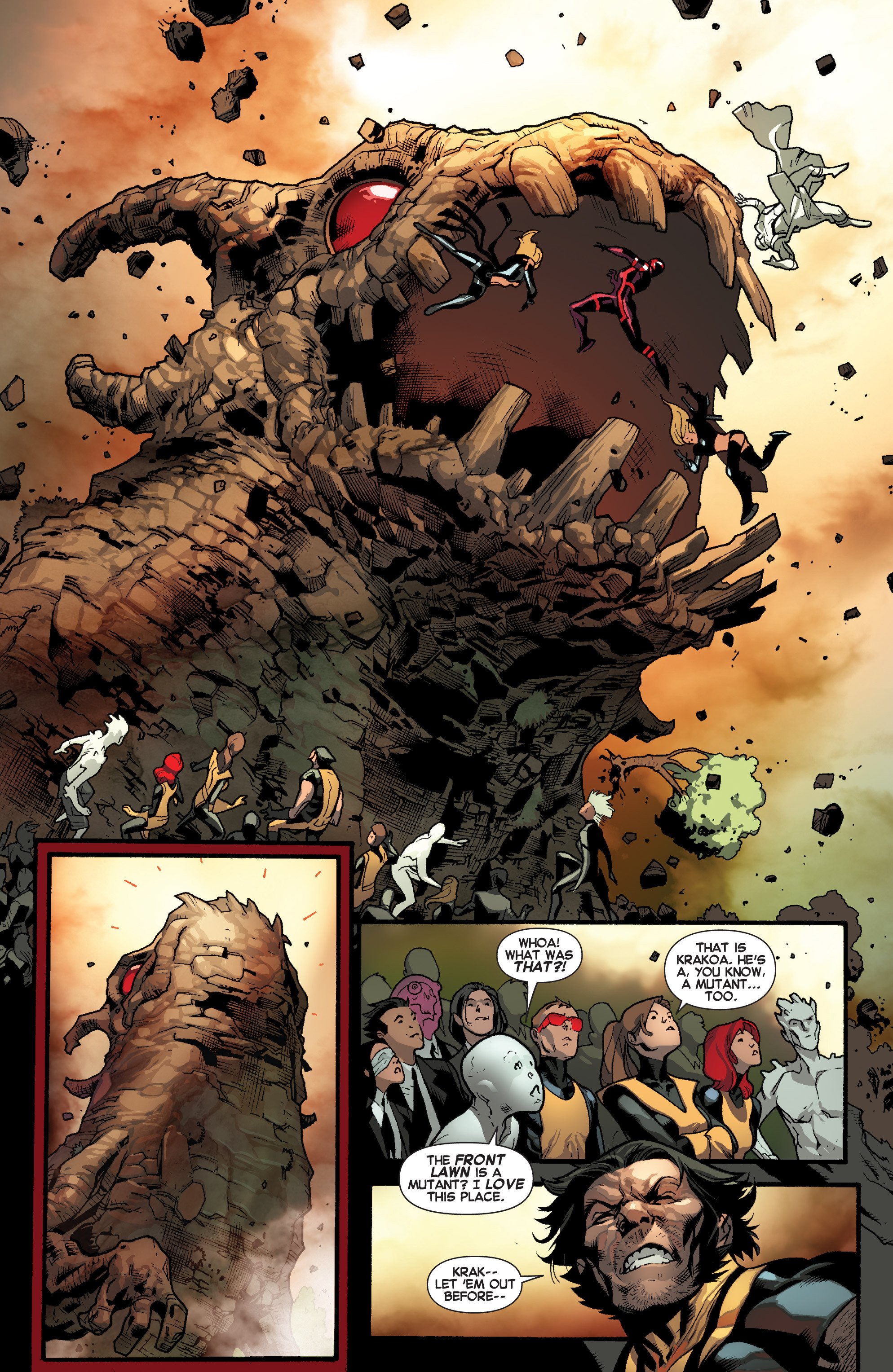 Read online All-New X-Men (2013) comic -  Issue # _Special - Here To Stay - 94