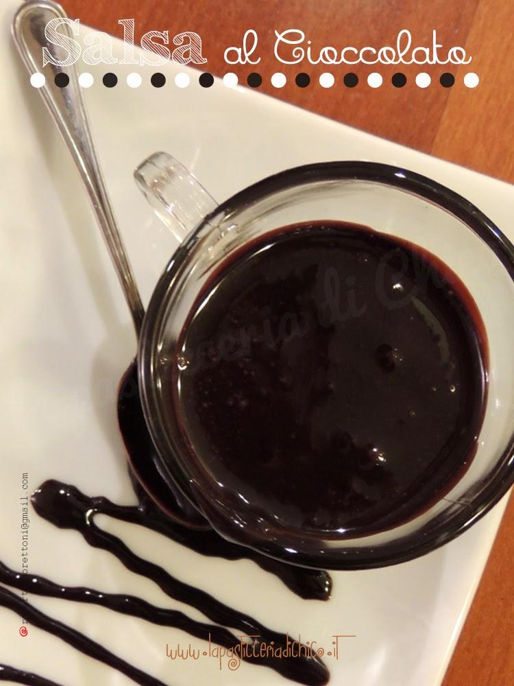 Salsa al Cioccolato - www.lapasticceriadichico.it