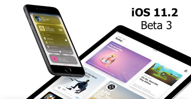 ابل تطلق iOS 11.2 beta 3 للمطورين للاختبار