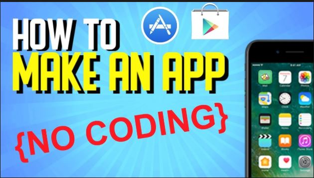 how to create an app for android without coding
