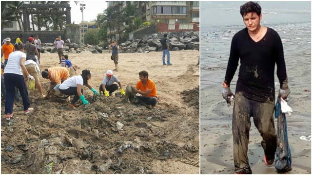 Afroz Shah beach clean-up project