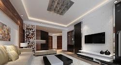 living luxury sets interior brick