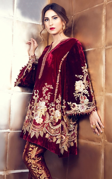 Party Dresses 2017 Collection By Tena Durrani
