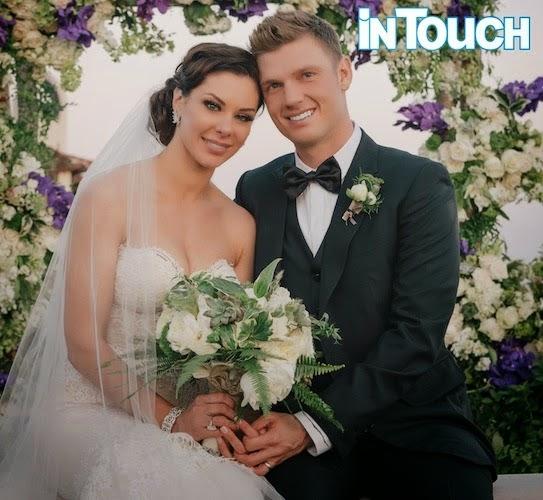 Una boda real muy especial: Nick Carter y Lauren Kitt