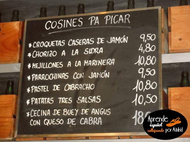 cosines pa picar asturias