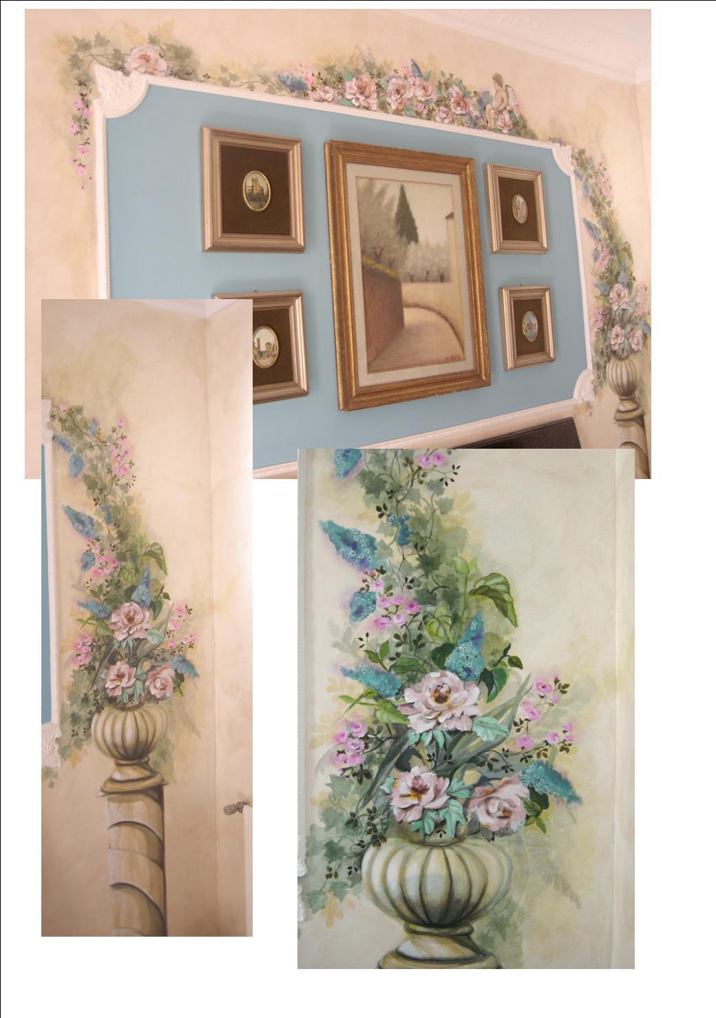 Murgiamirella decorazioni pittura castel madama decorazioni su pareti - Decorazioni su pareti ...