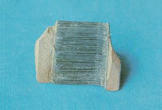 Crocidolita  crocidolite fragmento