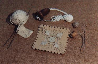 Travaux de couture vers 1900 (collection musée)