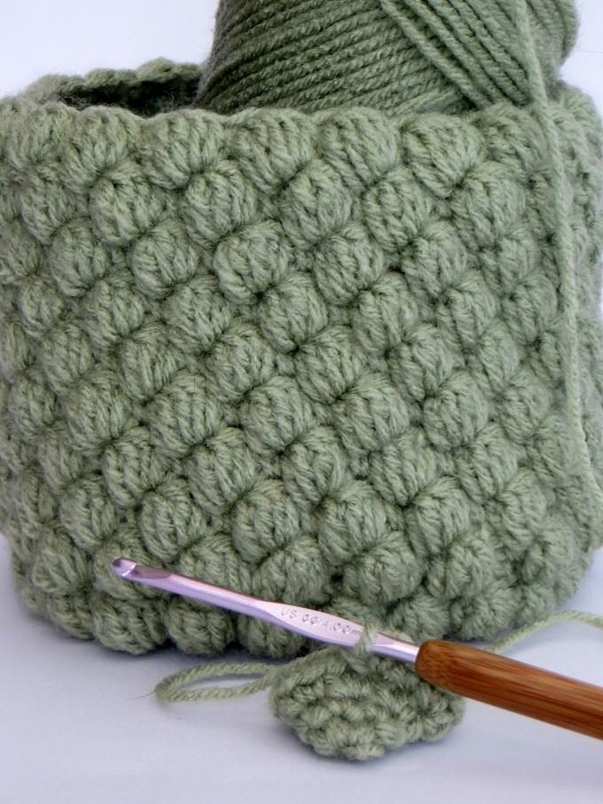 crochet plant pot