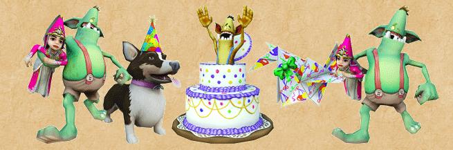 James Lifemancers Blog Wizard101s 8th Birthday Celebration
