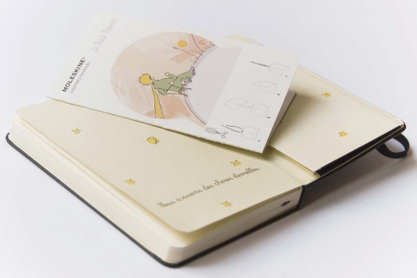 The Little Prince Inspired Quote 2nd Edition Art Print: Le Petit Prince / Moleskine Special Edition