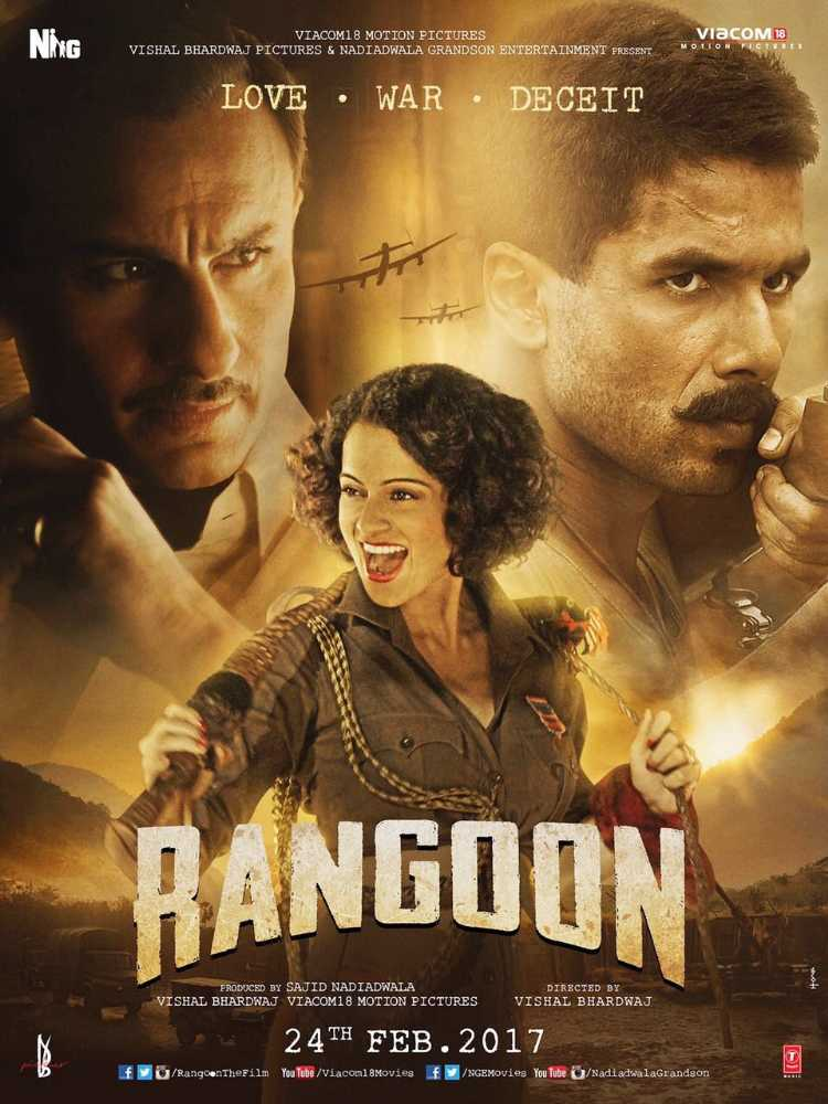Rangoon (2017) Movie Poster