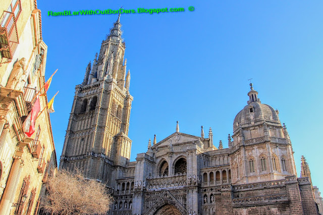 Facade, St Mary Cathedral, Toledo, Spain