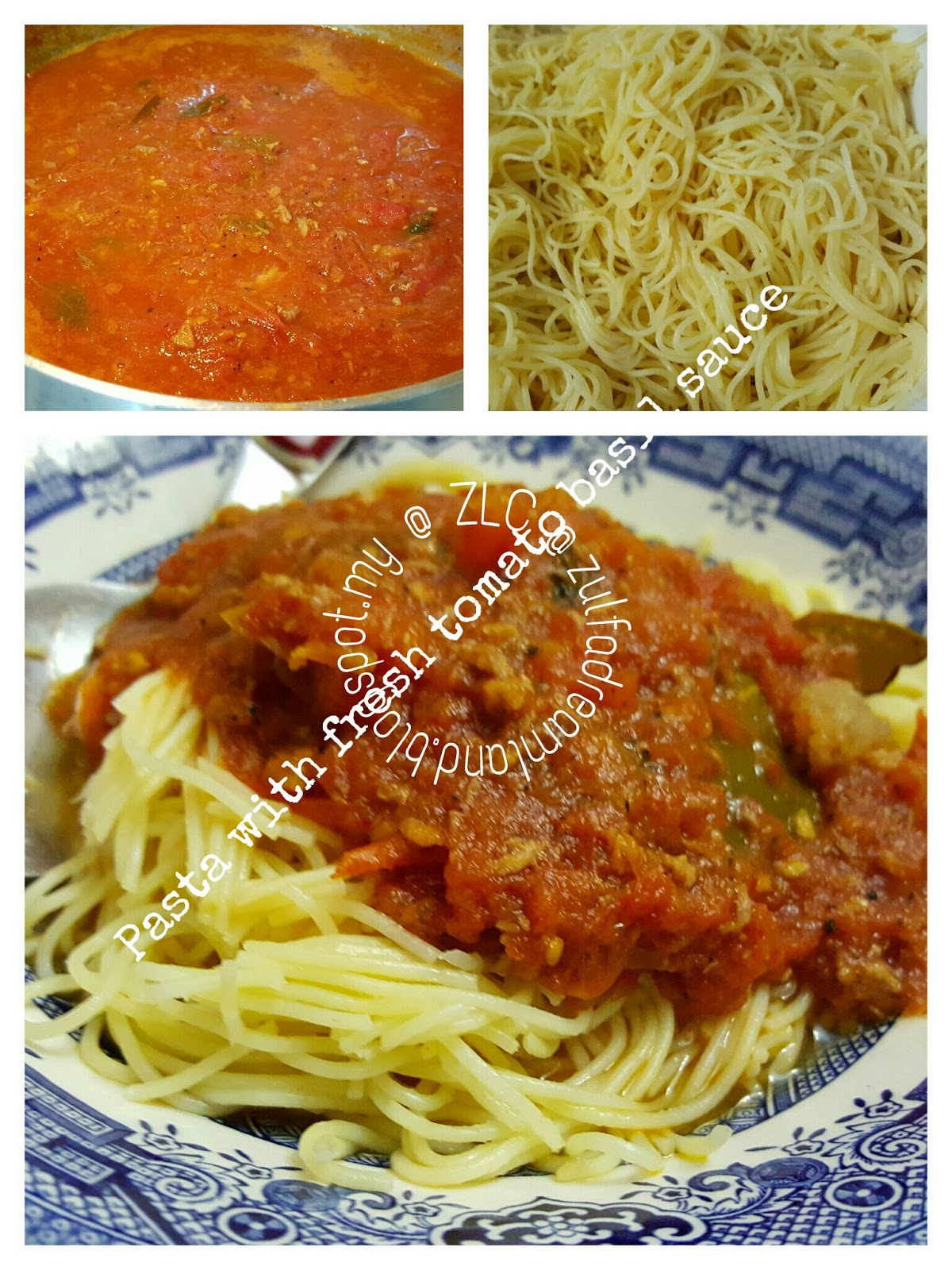 how to make tomato pasta sauce with fresh tomatoes