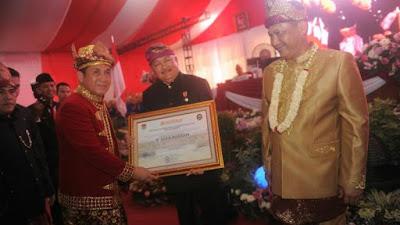 HUT Kota Lubuklinggau Dihadiri Gubernur Alex Nurdin Dan Kepala BNN Buwas