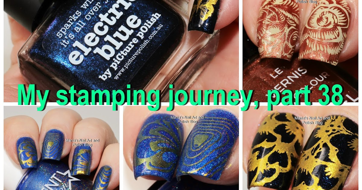 Marias Nail Art and Polish Blog: My stamping Journey - part 15