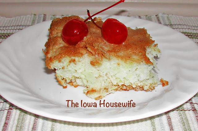 The Iowa Housewife Angel Food Pineapple Cake