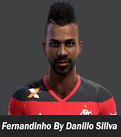Face Fernandinho - Flamengo Pes 2013