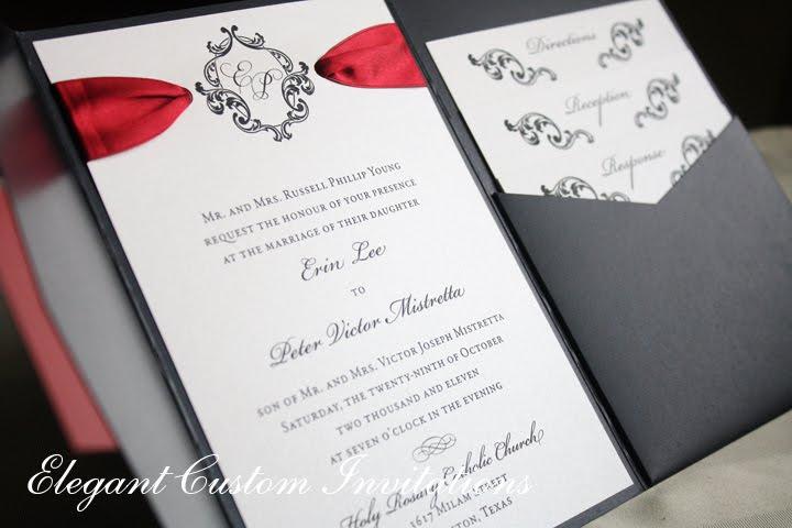 Isabella Invitations An Elegant Custom Invitations Design Studio