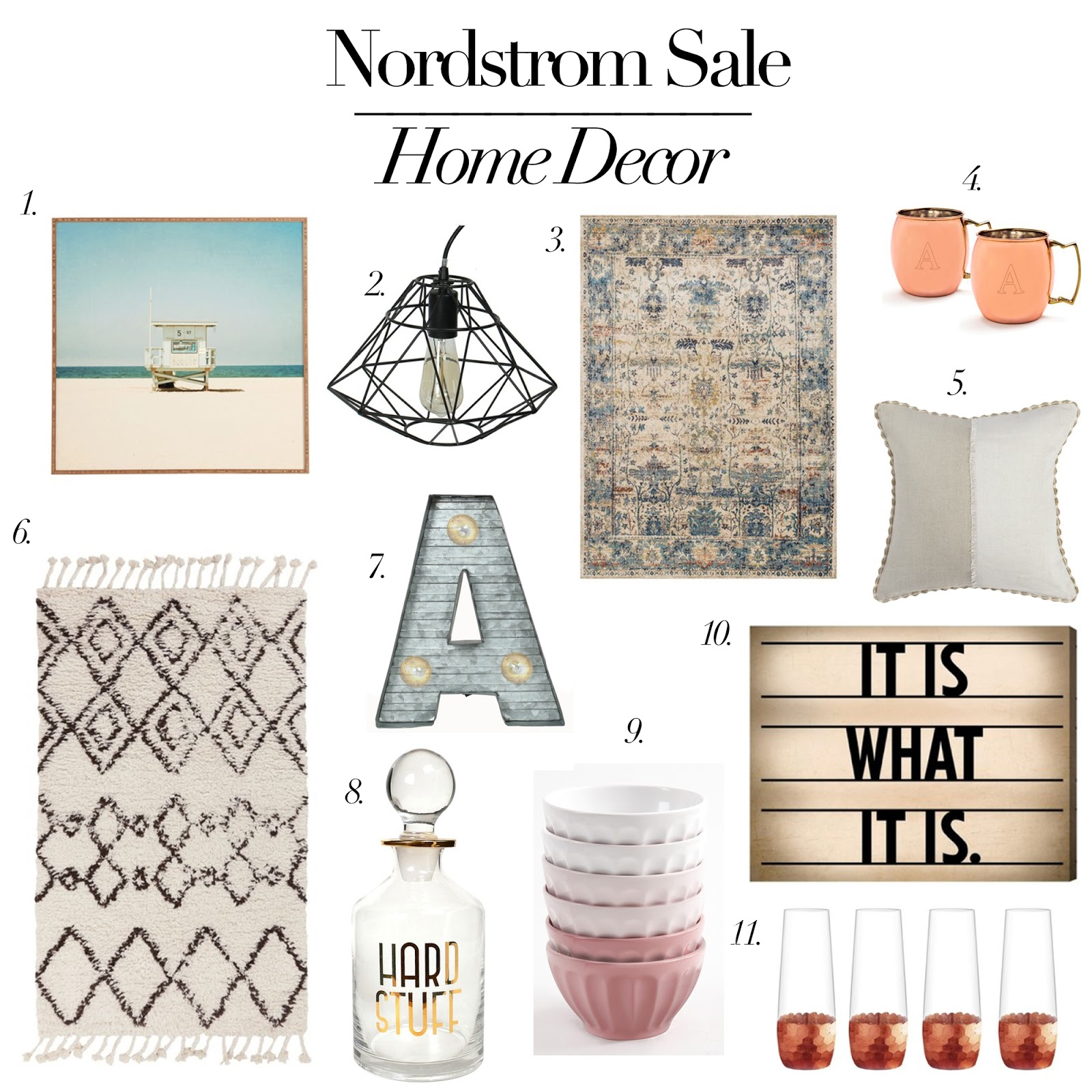 Nordstrom sale picks home decor andrea clare Nordstrom home decor sale