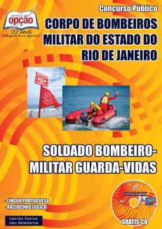 apostila guarda-vidas Corpo de Bombeiros Militar / RJ.