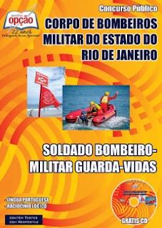Apostila concurso Corpo de Bombeiros Militar do Estado do Rio de Janeiro (CBMERJ).
