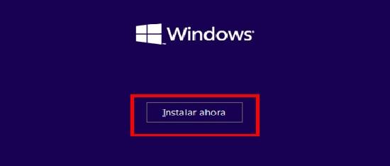 Instalación limpia de Windows 10