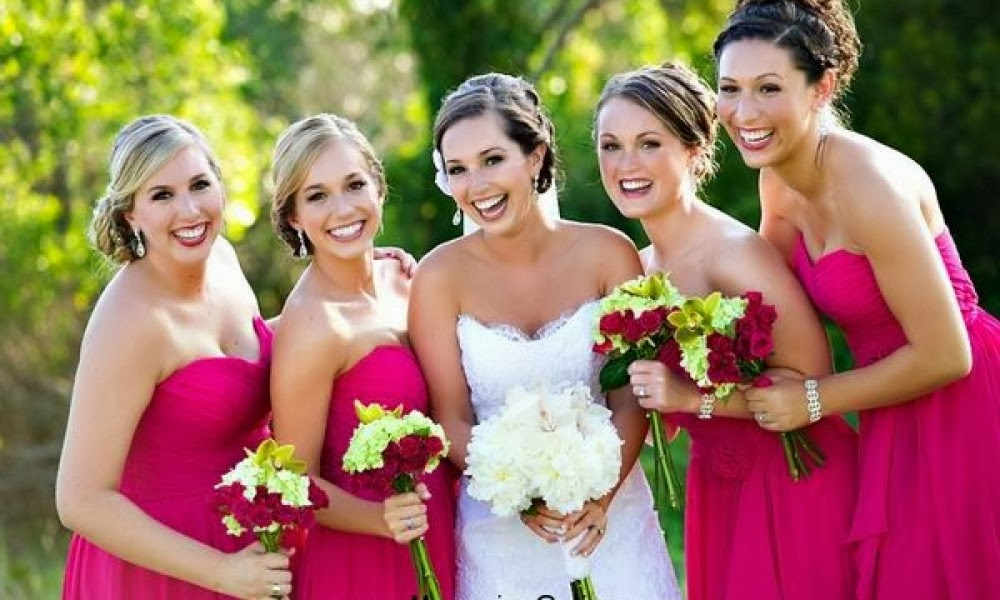 Taffeta Strapless A Line Long Bridesmaid Dress