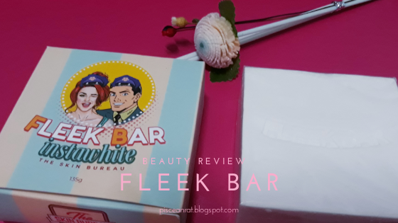 The Skin Bureau  Fleek Bar Instawhite Review