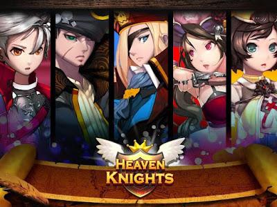 Heaven Knights Apk Mod High Damage + Defense + SKill
