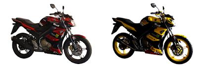 Kredit Motor Yamaha Vixion KS Custom Monster