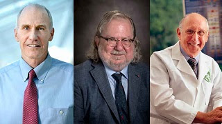 2018 Albany Medical Center Prize awarded to James,Carl & Steven