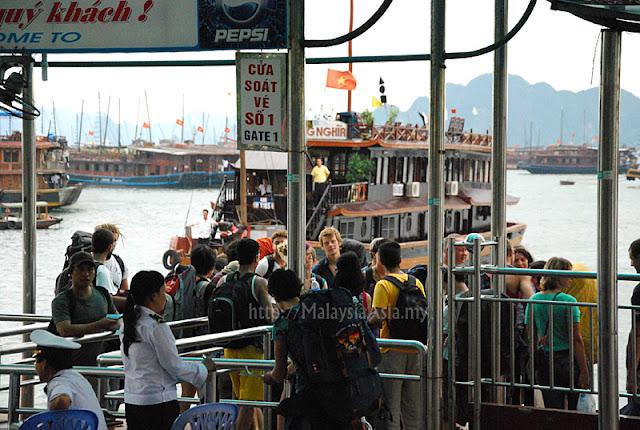 Bai Chay Tourist Wharf In Halong Bay Malaysia Asia