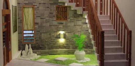 taman di dalam rumah