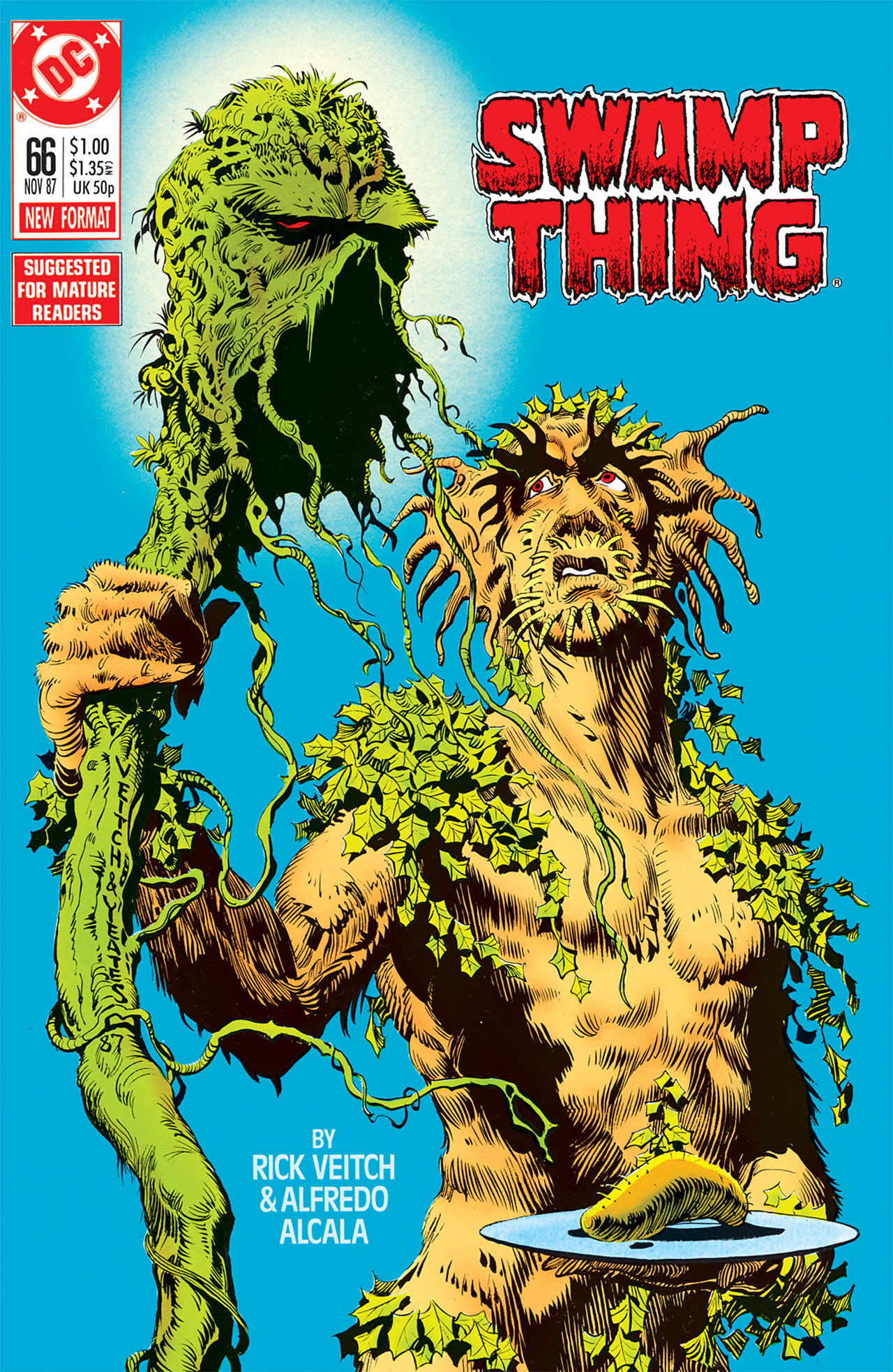 Swamp Thing (1982) Issue #66 #74 - English 1