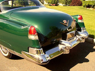 1953 Cadillac Coupe DeVille Tail fin