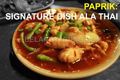 Resepi Masakan Paprik Ayam Thai